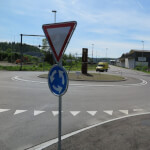 Verkehrskreisel zur Verkehrsraumgestaltung