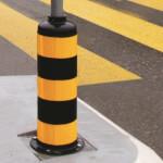 Verkehrsraumgestaltung mit Inselpfosten, Kunststoffinsel uvm