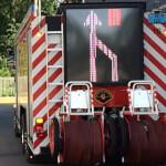 1900x500 LED-Wechselverkehrszeichen Feuerwehr Bern