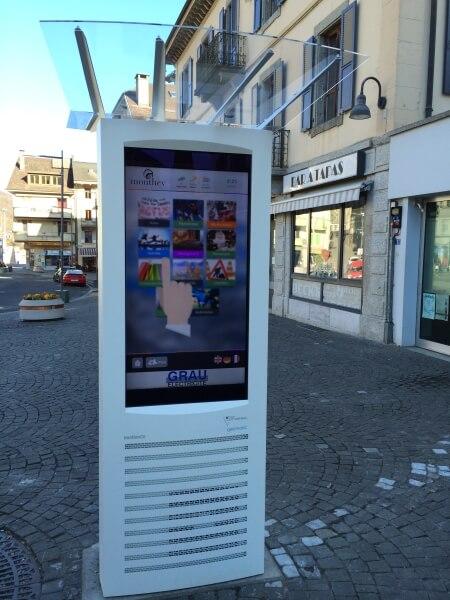 Système d'information numérique SIGNA imotion® Full G6 outdoor
