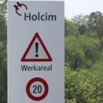 Verkehrsregelung auf 40 Holcim Arealen