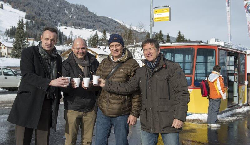 Verantwortliche Projektleider von Churwalden, Postauto AG, etc