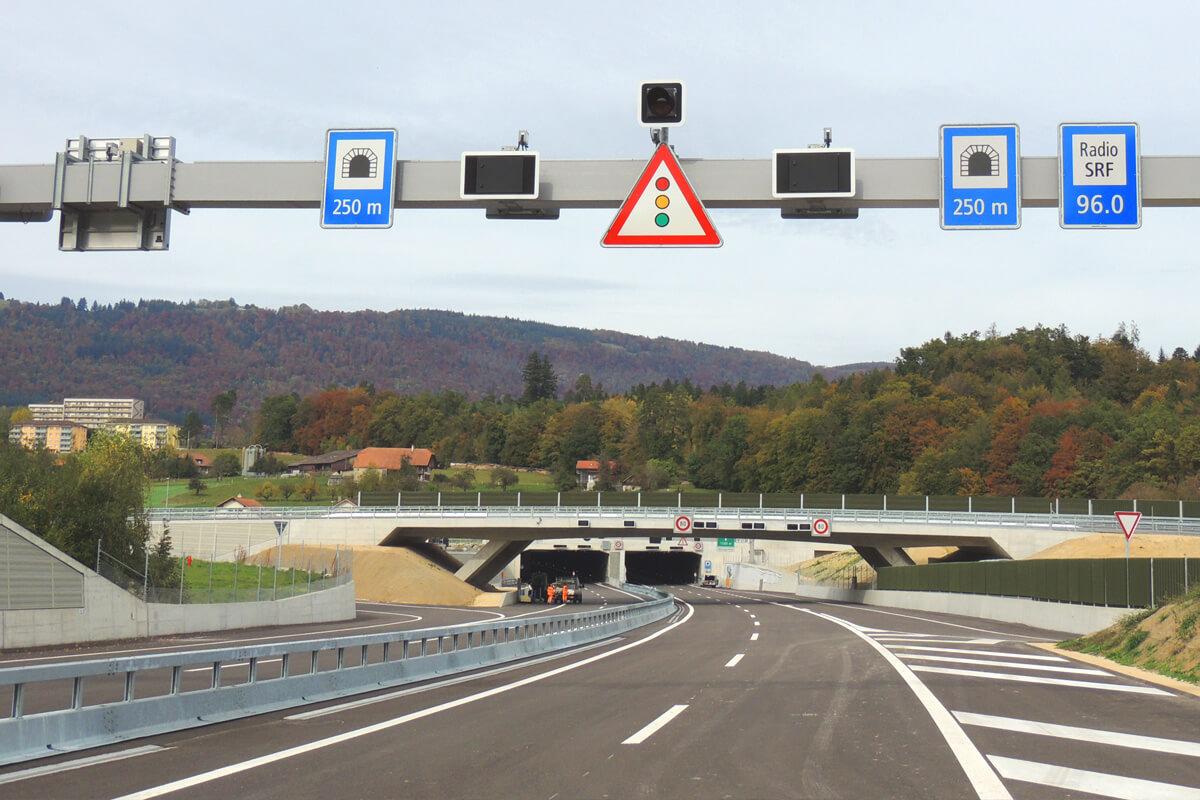 A5 Ostast Signalbrücke