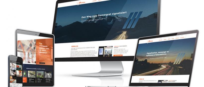 Neue Website SIGNAL AG