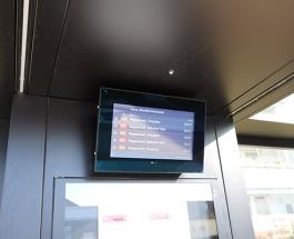 Get information! Neue Abfahrtsmonitore für Rapperswil-Jona