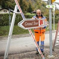 650 Wegweiser schaffen Klarheit für die Grand Tour of Switzerland