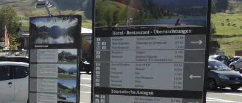 Naturparadies Schwarzsee mit neuen Informationsstelen