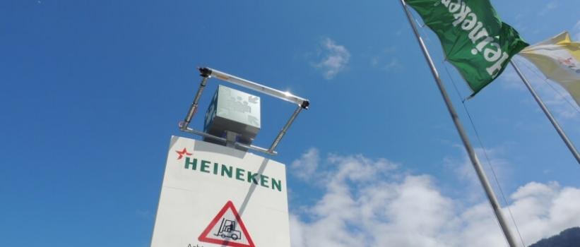 Mehr Sicherheit und bessere Information im HEINEKEN Logistikzentrum