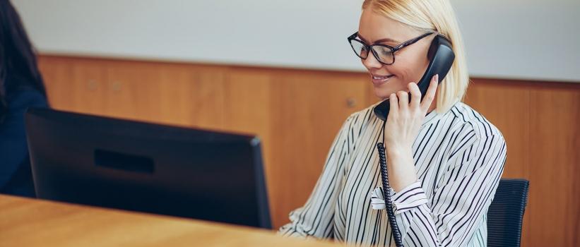 Offene Stelle: Mitarbeiter/-in Empfang im Jobsharing 30-40%