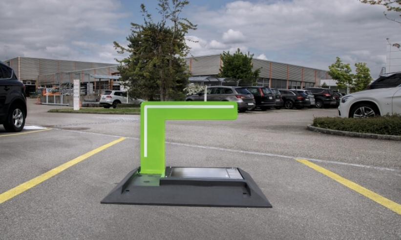 Innovation: SIGNA GUARD Parkplatzbügel