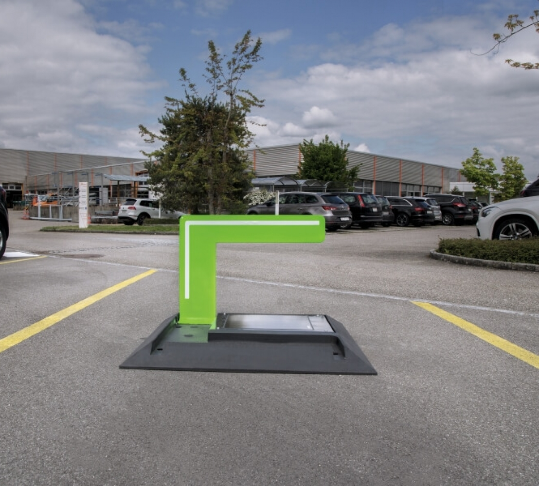 Parkplatzbügel