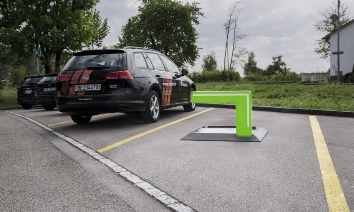 Innovation: barrière de parking SIGNA GUARD