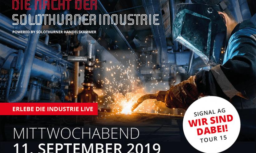 Die Nacht der Solothurner Industrie