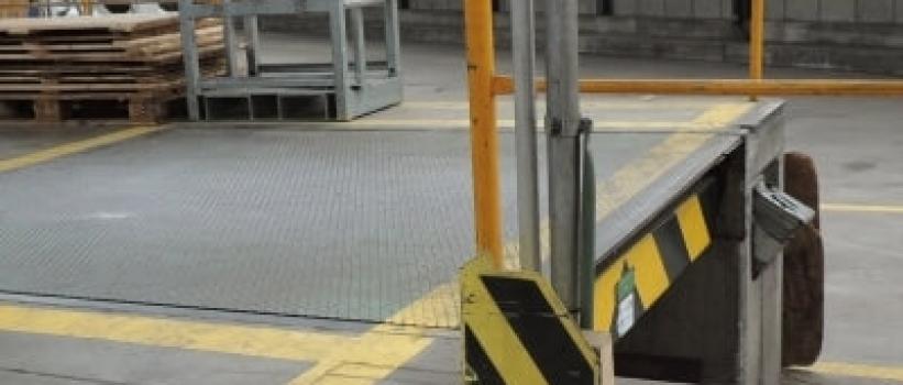 Markierungen in Verteilzentren sorgen für mehr Sicherheit