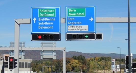 A5 Ostast Biel/Bienne, Branche Est du contournement A5 Bienne